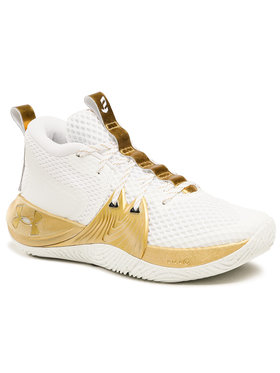 Under Armour Under Armour Обувки Ua Embiid 1 3023086-105 Бял