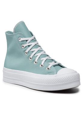 Converse Converse Sneakers aus Stoff Ctas Lift Hi 571672C Blau