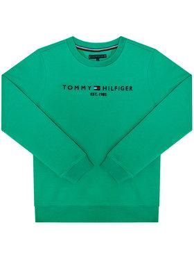 TOMMY HILFIGER TOMMY HILFIGER Bluză Essential Cn KB0KB05797 Verde Regular Fit