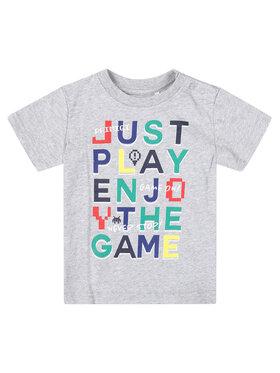 Primigi Primigi T-Shirt Game Player 45221001 Szary Regular Fit