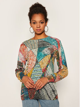 Desigual Desigual Sweater 20WWJFBU Színes Regular Fit