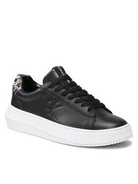 Calvin Klein Jeans Calvin Klein Jeans Sneakersy Chunky Cupsole Laceup Sneaker P YW0YW00456 Černá