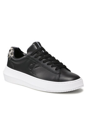 Calvin Klein Jeans Calvin Klein Jeans Sneakersy Chunky Cupsole Laceup Sneaker P YW0YW00456 Čierna
