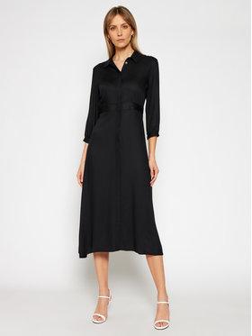 Calvin Klein Calvin Klein Košeľové šaty K20K202568 Čierna Regular Fit