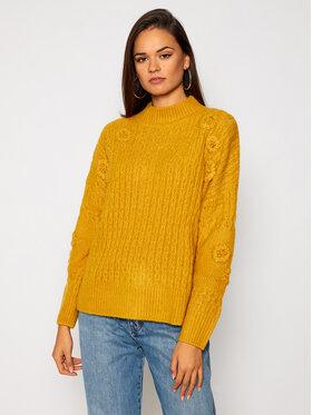 Desigual Desigual Пуловер Jers Lisboa 20WWJFAW Жълт Regular Fit