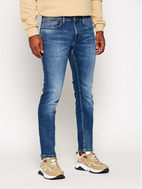Tommy Jeans Tommy Jeans Jeansy Slim Fit Scanton DM0DM09304 Granatowy Slim Fit