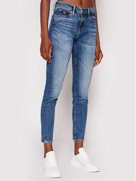 Calvin Klein Jeans Calvin Klein Jeans Džínsy J20J216311 Tmavomodrá Skinny Fit