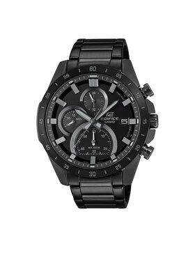 Casio Casio Ρολόι EFR-571MDC -1AVUEF Μαύρο
