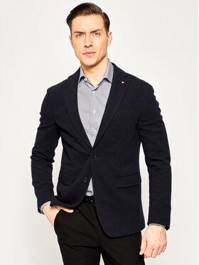 Tommy Hilfiger Tailored Tommy Hilfiger Tailored Sacou Jersey Flex Blazer TT0TT06690 Bleumarin Slim Fit