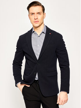 Tommy Hilfiger Tailored Tommy Hilfiger Tailored Σακάκι Jersey Flex Blazer TT0TT06690 Σκούρο μπλε Slim Fit