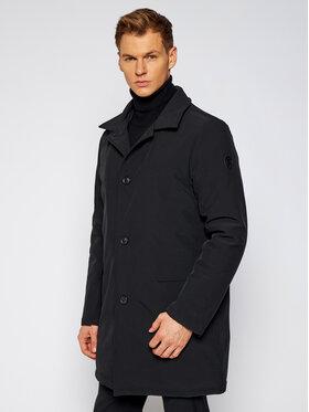Trussardi Trussardi Zimní kabát Neoprene Car 52S00471 Černá Regular Fit