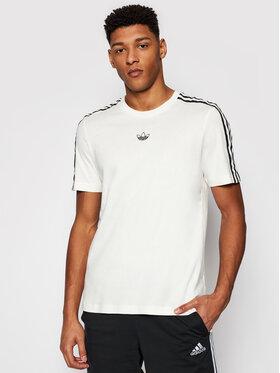 adidas adidas T-shirt Pprt 3 Stripe T GN2422 Bež Regular Fit
