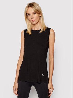 Carpatree Carpatree Funkčné tričko Slit CPW-SHI-1001 Čierna Regular Fit
