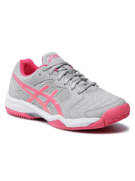 Asics Asics Chaussures Gel-Dedicate 6 Clay 1042A073 Gris