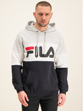Fila Fila Felpa Night Blocked 687001 Multicolore Regular Fit