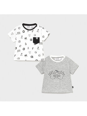 Mayoral Mayoral 2-dílná sada T-shirts MAYORAL-1075 Barevná Regular Fit