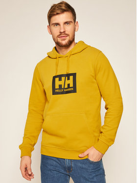 Helly Hansen Helly Hansen Mikina Box 53289 Žltá Regular Fit