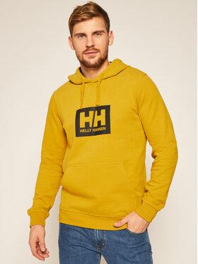 Helly Hansen Helly Hansen Суитшърт Box 53289 Жълт Regular Fit