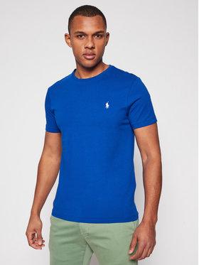 Polo Ralph Lauren Polo Ralph Lauren T-shirt Ssl 710671438210 Bleu marine Custom Slim Fit
