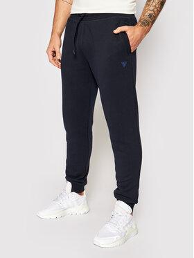 Guess Guess Spodnie dresowe U1YA04 K9V31 Granatowy Regular Fit