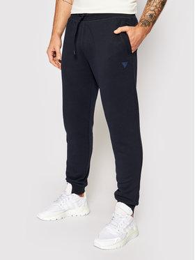 Guess Guess Teplákové kalhoty U1YA04 K9V31 Tmavomodrá Regular Fit