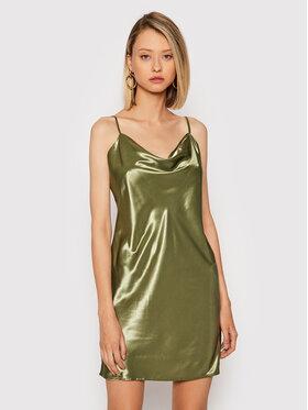 NA-KD NA-KD Koktejlové šaty 1017-001020-0031-581 Zelená Regular Fit