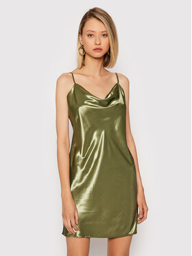 NA-KD NA-KD Koktel haljina 1017-001020-0031-581 Zelena Regular Fit