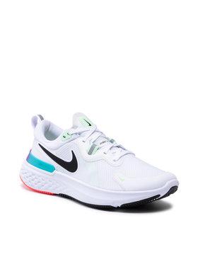 Nike Nike Boty React Miler CW1777 102 Bílá