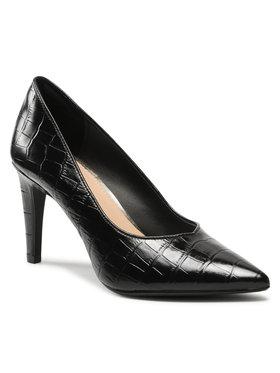 Clarks Clarks Pantofi cu toc subțire Genoa85 Court 261596874 Negru
