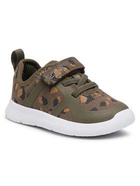 Clarks Clarks Sneakersy Ath Flux T 261498646 Zielony