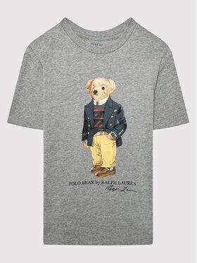 Polo Ralph Lauren Polo Ralph Lauren Marškinėliai 323853828003 Pilka Regular Fit