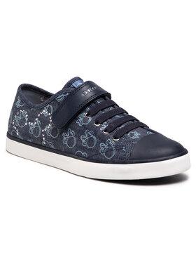 Geox Geox Sneakers aus Stoff J Ciak G. J J9204J 000SB C4005 D Dunkelblau