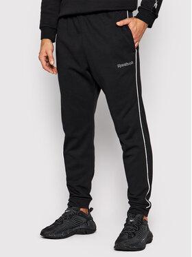 Reebok Reebok Spodnie dresowe Training Essentials GS9310 Czarny Regular Fit