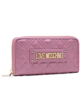 LOVE MOSCHINO LOVE MOSCHINO Голям дамски портфейл JC5600PP1BLA0621 Розов
