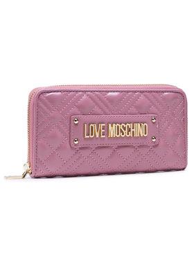 LOVE MOSCHINO LOVE MOSCHINO Veľká dámska peňaženka JC5600PP1BLA0621 Ružová
