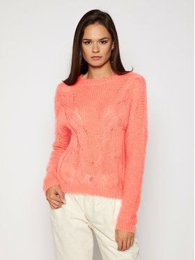 TwinSet TwinSet Sweter 202TP3191 Różowy Relaxed Fit