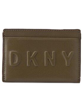 DKNY DKNY Kreditkartenetui Slgs Debossed Logo R172440101 Grün