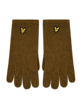 Lyle & Scott Lyle & Scott Herrenhandschuhe Racked Rib Gloves GL304CL Grün