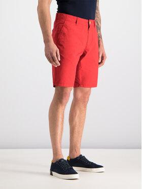 Napapijri Bavlnené šortky Nakuro N0YIJP Červená Regular Fit