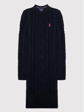 Polo Ralph Lauren Polo Ralph Lauren Ежедневна рокля Aran 313850504002 Тъмносин Regular Fit