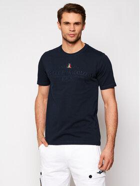 Aeronautica Militare Aeronautica Militare T-shirt 211TS1718J452 Bleu marine Regular Fit