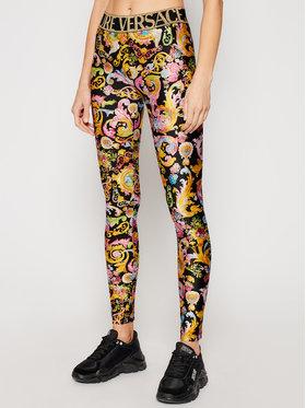 Versace Jeans Couture Versace Jeans Couture Legginsy D5HWA101 Kolorowy Slim Fit