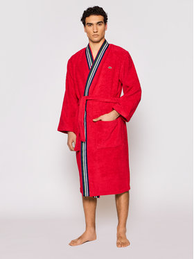 Lacoste Lacoste Robe de chambre Lclub Rouge