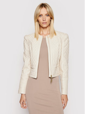 Marciano Guess Marciano Guess Giacca in similpelle 1GG302 8984Z Beige Slim Fit
