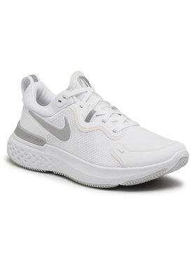 NIKE NIKE Chaussures React Miler CW1778 100 Blanc