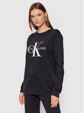 Calvin Klein Jeans Calvin Klein Jeans Μπλούζα Core Monogram Logo J20J207877 Μαύρο Relaxed Fit