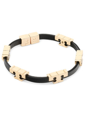 Tory Burch Tory Burch Brățară Serif-T Stackable Bracelet 80706 Negru