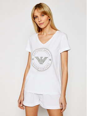 Emporio Armani Underwear Emporio Armani Underwear Pyžamo 164448 1P255 00010 Bílá