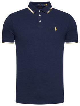 Polo Ralph Lauren Polo Ralph Lauren Polohemd Ssl-Knt 710812957001 Dunkelblau Slim Fit
