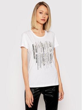 Liu Jo Liu Jo T-shirt WF1149 J5923 Bijela Regular Fit